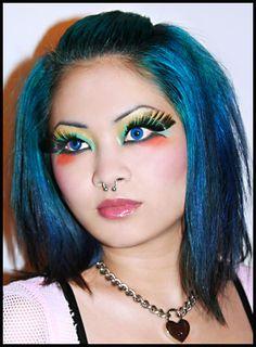 Crazy Contact Lenses! I buy mine at: http://www.fantasmagoria.eu/accessories/cosmetics-makeup/contact-lenses
