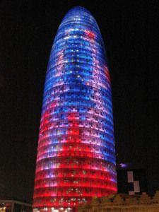 Torre de les glories, tour Agbar, architecte Jean Nouvel
