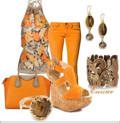 Another outfit idea for orange jeans with floral top :) We love Purple and let's add some orange :) #SolaveiBash Solavei is Powered by Relationships www.makeadifferenceandsave.org