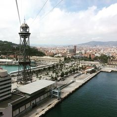 Great views over Barcelona