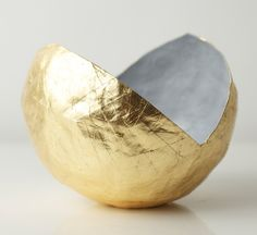 Gold Point Vessel by Up in the Air Somewhere | Bespoke Global