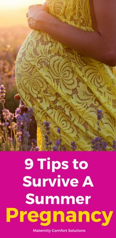 9 Tips To Survive Summer Pregnancy