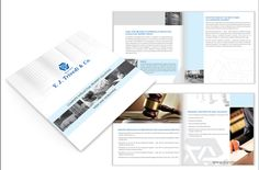 Corporate Brochure Design for I.P. Law Firm Y.J. Trivedi & Co. by Purple Phase Communications. www.purplephase.in