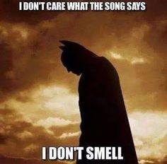 Poor Batman.