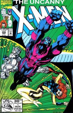 X-Men #286. Cover by Jim Lee