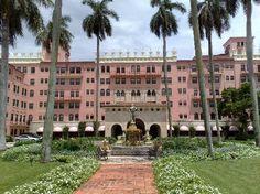 Boca Raton Resort & Spa — The Pink Palace :)