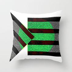 Stripes Throw Pillow by Jensen Merrell Designs - $20.00