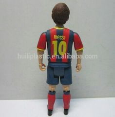 7inch soccer player action figure;football player custom action figure;sport star movable action figure for collection