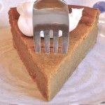 Easy as Pie, Pumpkin Pie (No Crust Needed!) on http://blog.julesglutenfree.com