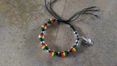Check out this item in my Etsy shop https://www.etsy.com/listing/229699280/black-hemp-bracelet-rasta-marijuana-leaf