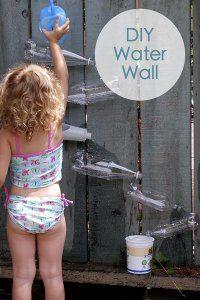 DIY Water Wall: 10 Summer water activities for kids | #BabyCenterBlog #SummerFun