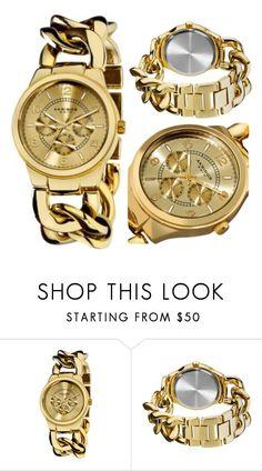 54a28bd4dd39 Akribos XXIV Women s AK531YG Ultimate Quartz Multifunction Gold-tone Twist  Chain Bracelet Watch for sale online