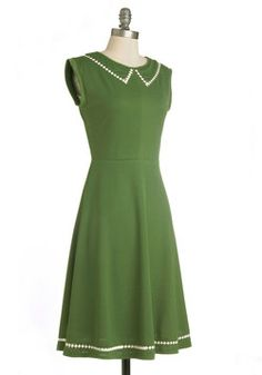 Author Outings Dress in Green, @ModCloth