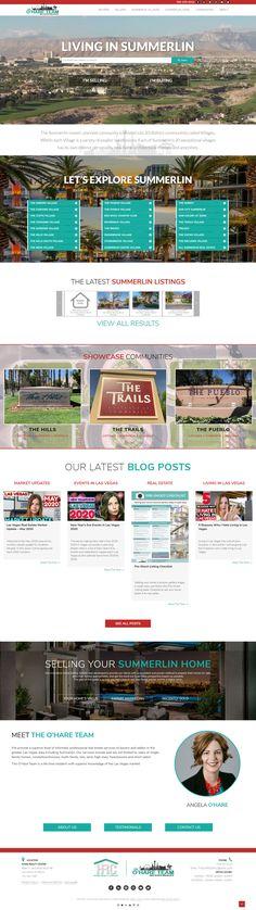 Custom Real Estate Web Design Home Buying, Las Vegas, Custom Design, Web Design, Real Estate, Let It Be, Design Web, Last Vegas, Real Estates