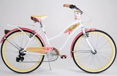 Shop Panama Jack Beach Cruiser: Perfect Bicycle for the Beach. I wish this style was also a hybrid 7-Speed.