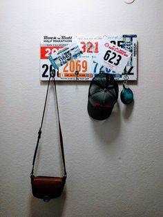 Race bib key/hat/purse hanger
