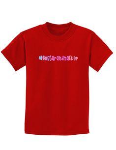 #BestGrandmaEver Childrens Dark T-Shirt