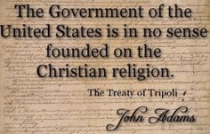 """Why America is not a """"Christian nation"""""""