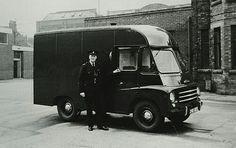 1950s & 60s Black Maria (police vehicle)