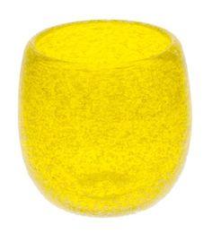 Awa Guinomi Yellow (d47 x h55mm) mfr. Ryukyu Glass Craft