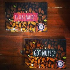 #yes to both of the two #important questions!  we #love it #paleo #healthy and #nutty   #freshmylife #fml #eatwithoutregrets #real #food #lifestyle #handmade #berlin #gotnuts #bio #vegan #fun #fitness #crossfit #fitfam