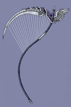 Dante's Stringed Scythe by EmperorJustin on deviantART