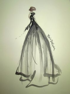 Melancholia #sketch #sketches #fashion #fashionillustration #illustration