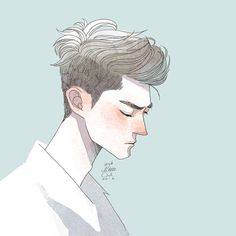 Find images and videos about boy, art and anime on We Heart It - the app to get lost in what you love. Illustration Art Nouveau, Character Illustration, Boy Illustration, Fanart, Pretty Art, Cute Art, Art Sketches, Art Drawings, Pencil Drawings
