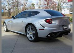 2012 Ferrari FF  - not sure about this one.