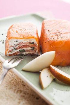 Pressé de saumon à la pomme et au gingembre