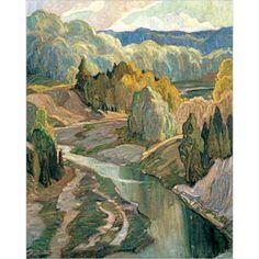 The Valley 1921 ARTIST: FRANKLIN CARMICHAEL