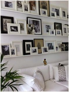 DIY  //  How to Install a Picture Wall