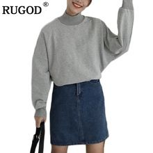 {Get it here ---> https://tshirtandjeans.store/products/rugod-casual-gray-turtleneck-cotton-blouse-women-2017-autumn-long-sleeve-blusas-shirt-women-clothing-for-winter-womens-tops/|    Upcoming arrival RUGOD Casual Gray Turtleneck Cotton Blouse Women 2017 Autumn Long Sleeve Blusas Shirt Women Clothing for Winter Women's Tops now on sale $US $28.99 with free delivery  you will discover this excellent piece as well as far more at the on-line store      Grab it right now at this website…