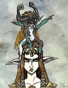 Minda and Zelda