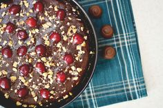 Cherry Chocolate Tart Chocolate Cherry, Sweet Tooth, Recipes, Food, Pie, Recipies, Essen, Meals, Ripped Recipes