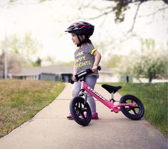 Strider is one of the best balance bike for your lovely kids. It will help your child to ride bike.