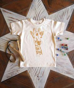 Toddler chemise en coton organique  écran par ohlittlerabbit