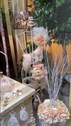 showcase shop flower wedding,escaparates floristerias