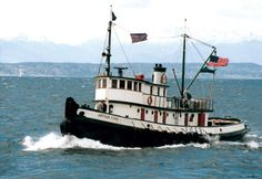 Arthur Foss, Historic Tug Boat, Built in 1889 and Harbored at Lake Union in Seattle