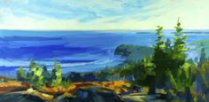 """From Here to There"" by Philip Frey. 24""x48"" Oil. *SOLD*   www.maine-art.com."