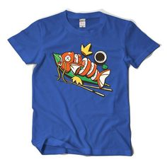 https://shop.geeky-design-life.com/collections/video-games/products/pokemon-magikarp-roll-mens-t-shirt
