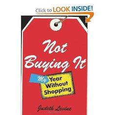 Interesting story of a couple who didn't buy anything not mandatory for a year.
