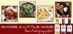 A perfect Thanksgiving recipe: friends, family, Sutter Home mini bottles! #ThankfulThursday