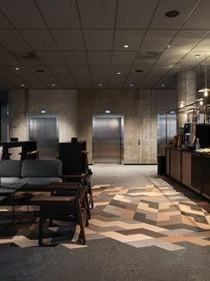 Discover our woven vinyl floors, available in different colours and shapes. Quality Hotel, Sense Of Place, Custom Rugs, Headboards For Beds, Common Area, Vinyl Flooring, Three Dimensional, Interior Architects, Indoor