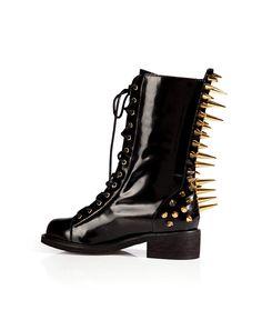StuddedBoxcalfBootsinBlackfromGIUSEPPEZANOTTI   Luxury fashion online   STYLEBOP.com