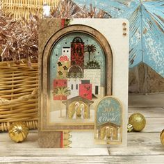 Card Making Inspiration, Making Ideas, Christmas Themes, Christmas Cards, Hunkydory Crafts, True Meaning Of Christmas, Ready To Pop, Joy To The World, Paper Crafts