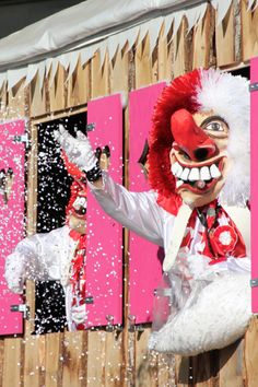 Basel Fasnacht – Basel, Switzerland Fasnacht Basel: the Basel carnival is Switzerland's biggest and one of Basel's main visitor attractions. It takes place every year between February and March My Heritage, February, Festivals, Creative, Sweet Home, Wanderlust, Europe, Big, Board