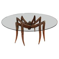 'Spider' Table by Michael Wilson | From a unique collection of antique and modern dining room tables at https://www.1stdibs.com/furniture/tables/dining-room-tables/