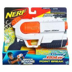 Official Hasbro SUPER SOAKER Point Break Water Gun Air Pressure Blaster NWT NEW!