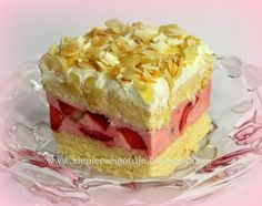 In my kitchen: Truskawkowe rafaello Polish Desserts, Polish Recipes, Cake Recipes, Dessert Recipes, Food Cakes, Cake Cookies, Baked Goods, Holiday Recipes, Food To Make